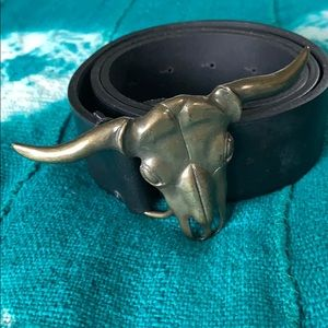 Zara Longhorn Belt